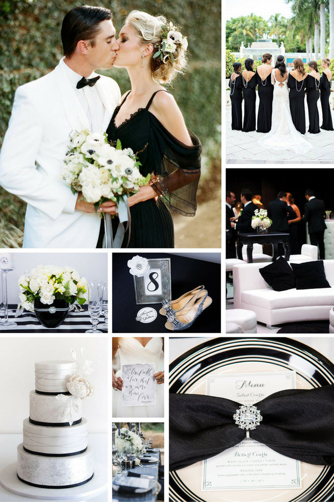 Black and White Wedding Theme Inspiration