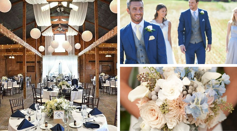 Totally Dazzled Gray Wedding Color Inspiration
