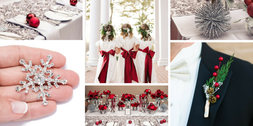 Totally Dazzled Christmas Wedding Inspiration