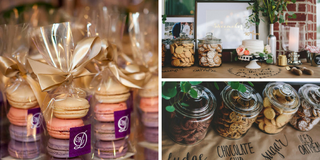23 wedding favors - cookie buffet favor