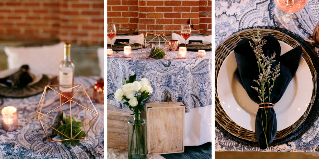 Copper + Paisley | Tin & Twine Events