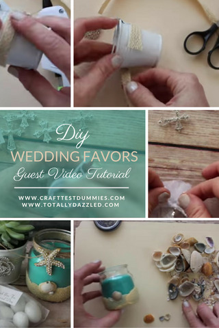 Craft Test Dummies Wedding Favors Youtube Diy Post