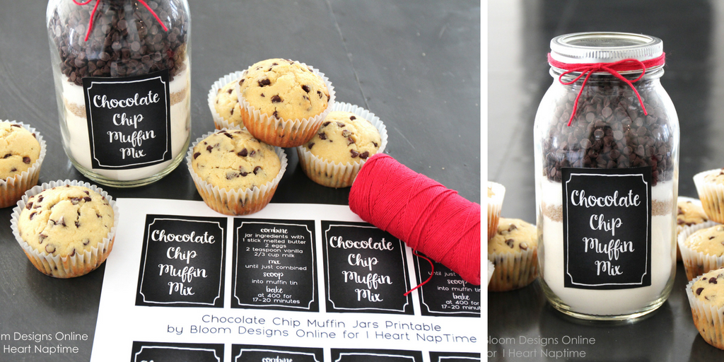 23 wedding favors - mason jar muffin recipe favors