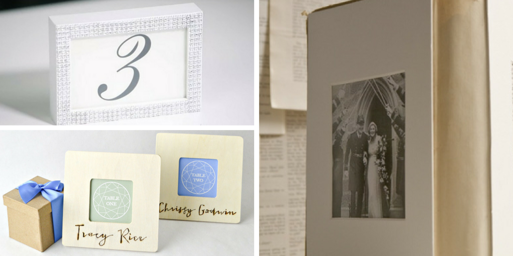 23 wedding favors - picture frame