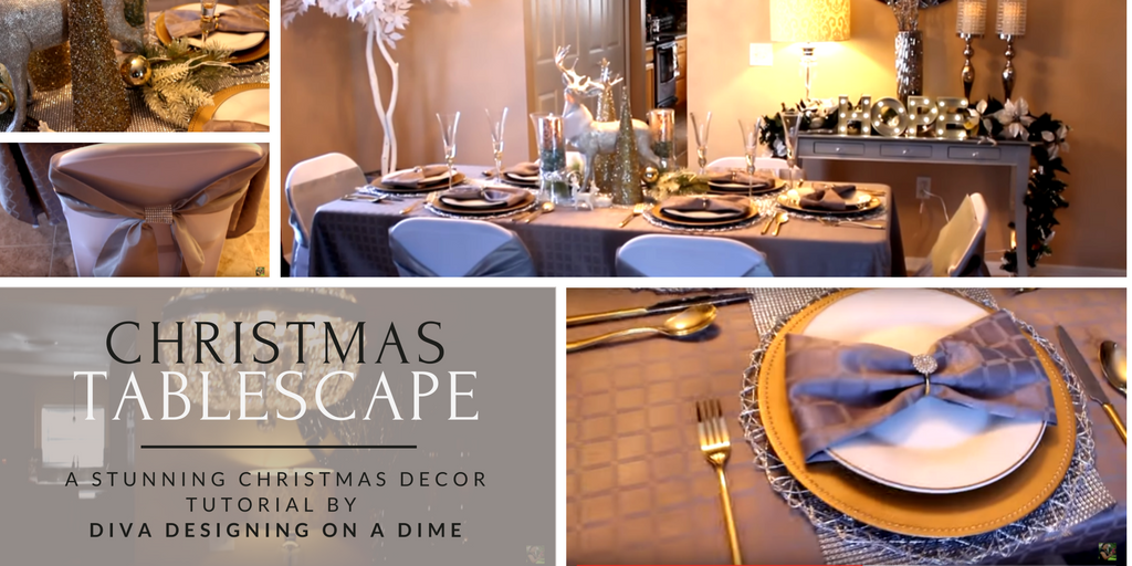 Diva Designing For Less Christmas Tablescape
