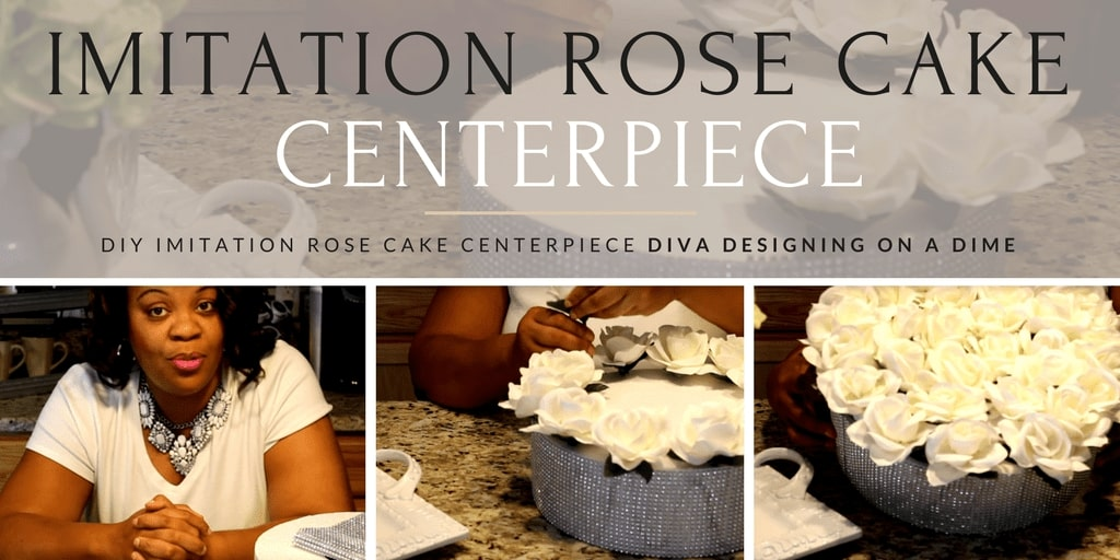 Diva Designing on a Dime with Kimberly Davis_s Imitation Rose Cake Centerpiece Tutorial(1)