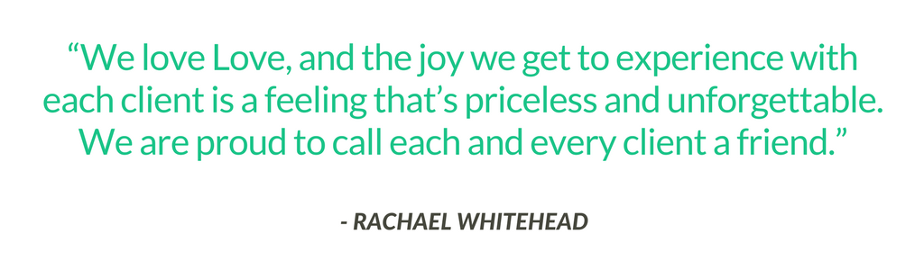 Racheal Whitehead from Whatever Is Lovely Events Expert quote