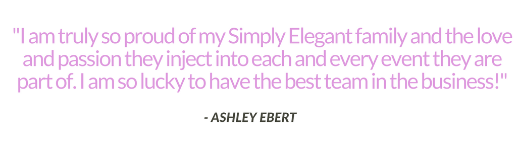 Ashley Ebert Simply Elegant Quote