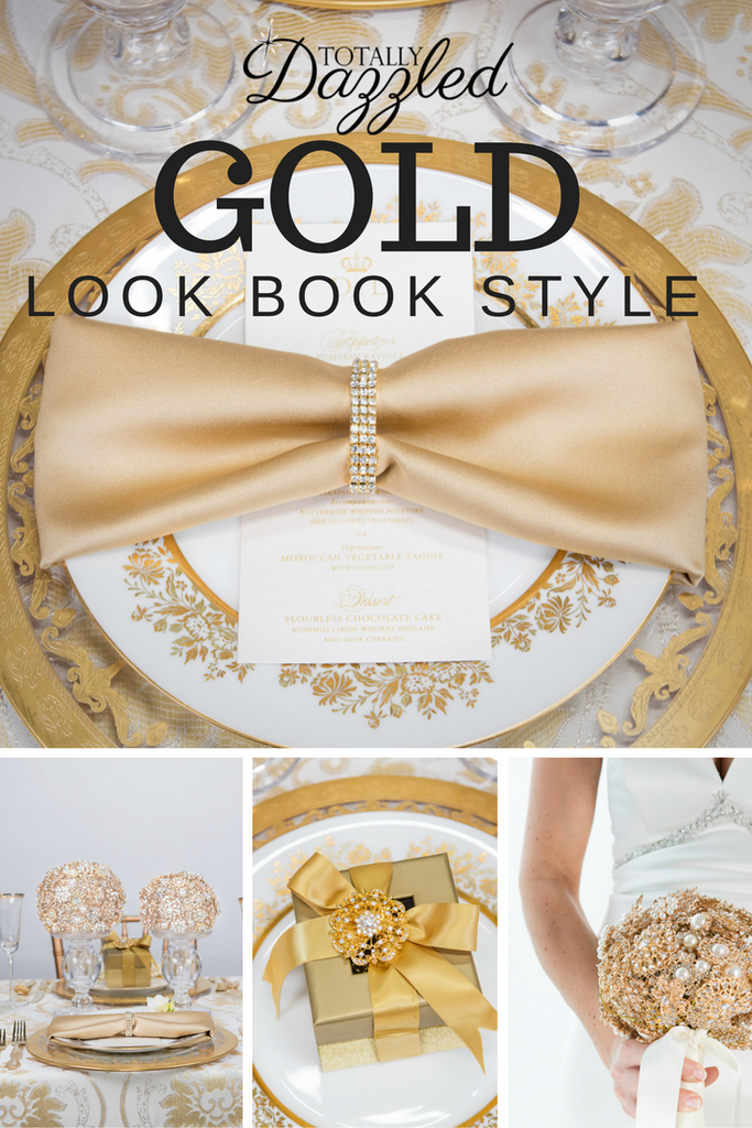 Totally Dazzled 2016 Lookbook Gold Style