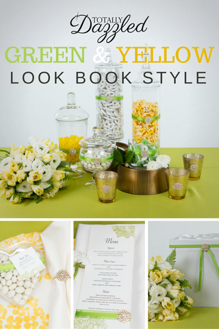 Totally Dazzled Green and Yellow Lookbook 2016