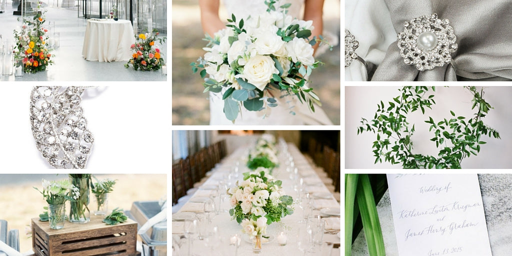 Totally Dazzled Greenery Wedding Theme Curated Pins