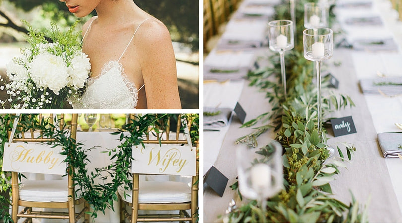 Totally Dazzled Greenery Wedding Inspiration Top 10