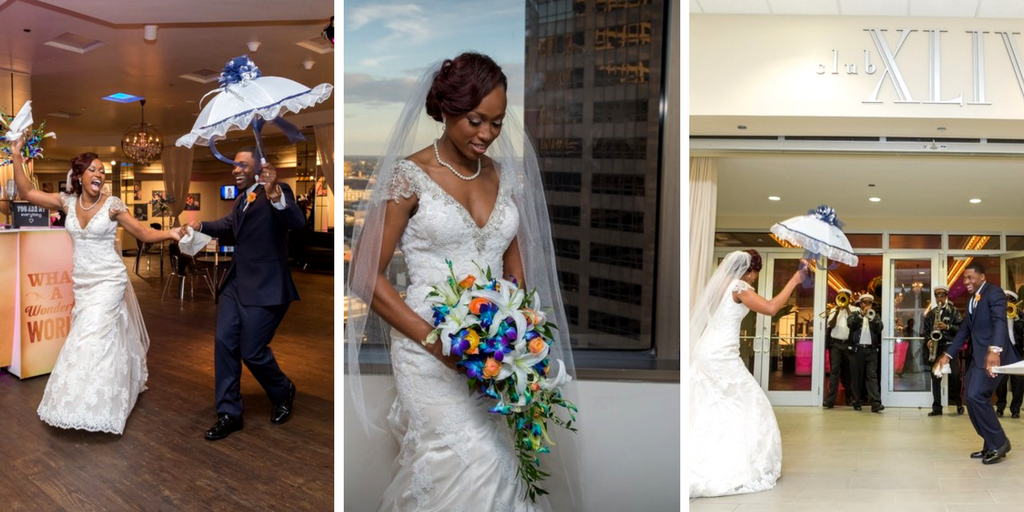 Kayla + Darius | All About Events New Orleans