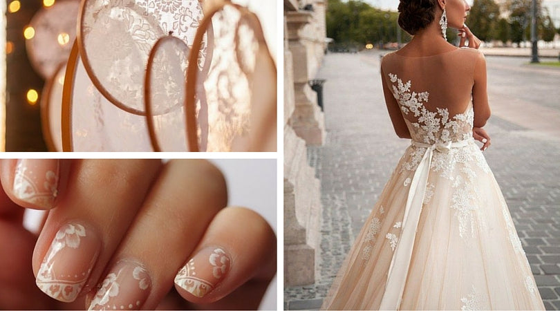 Totally Dazzled Lace Wedding Theme