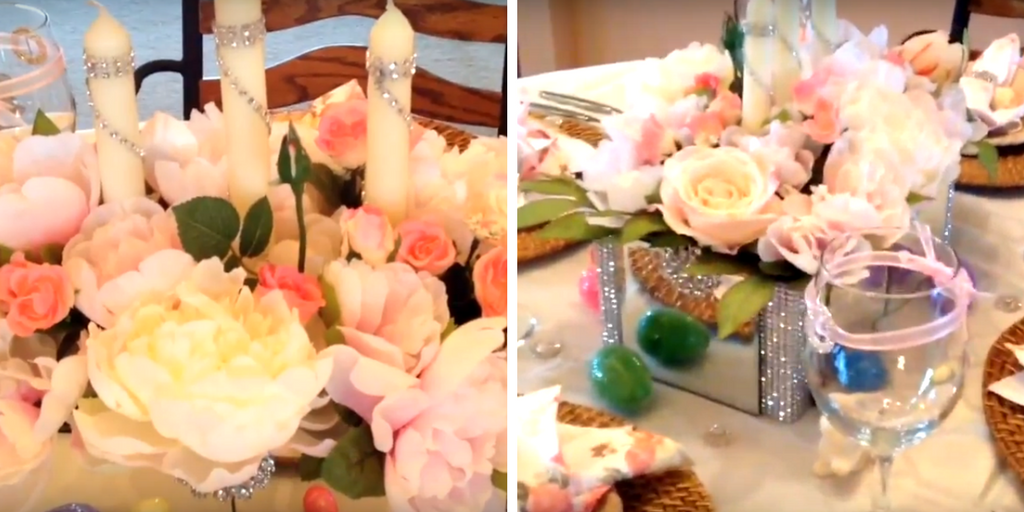 Totally Dazzled + Magnolia Housewife Spring and Easter Tablescape