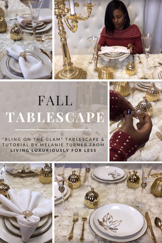 Melanie Turner Fall Tablescapes
