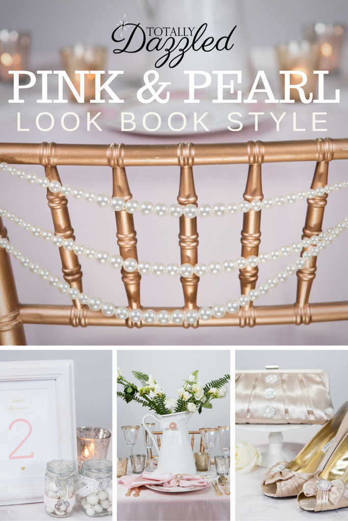 Totally Dazzled Lookbook Pink and Pearl Style