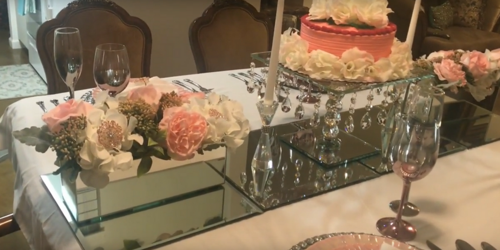 Pretty in Pink Tablescape by Travina Brown Full view #2
