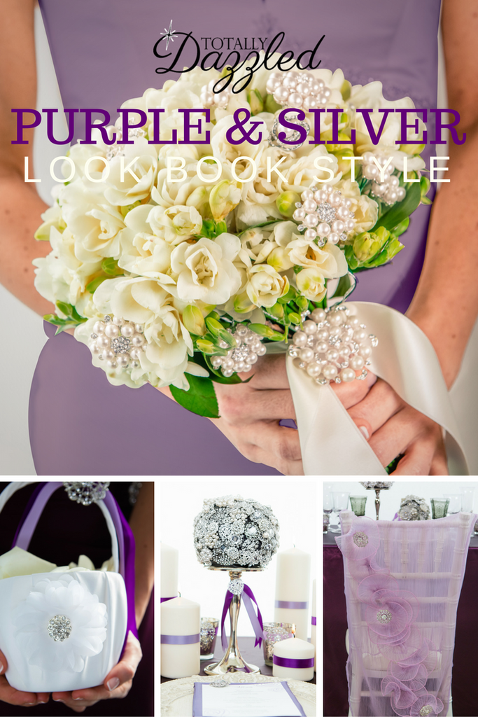 Totally Dazzled 2016 Lookbook Purple and Silver