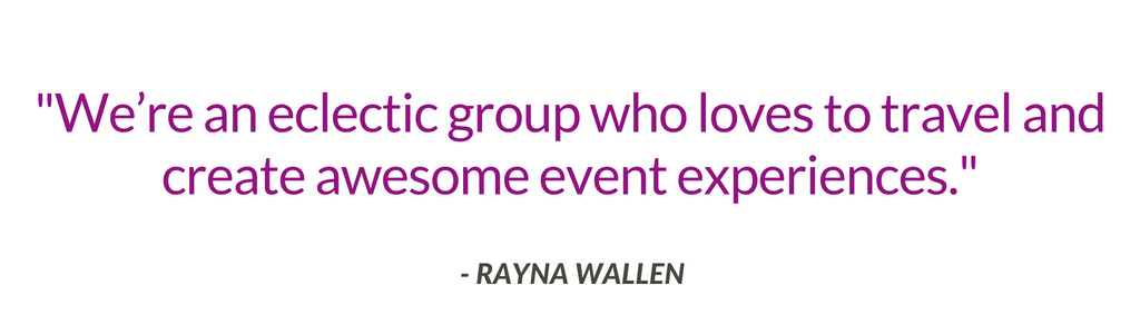 Rayna Wallen from Lunasa Events