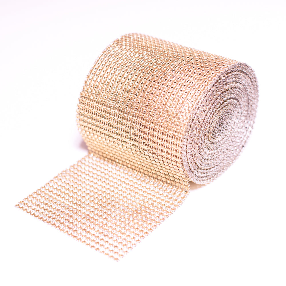 bling wrap rhinestone mesh ribbon