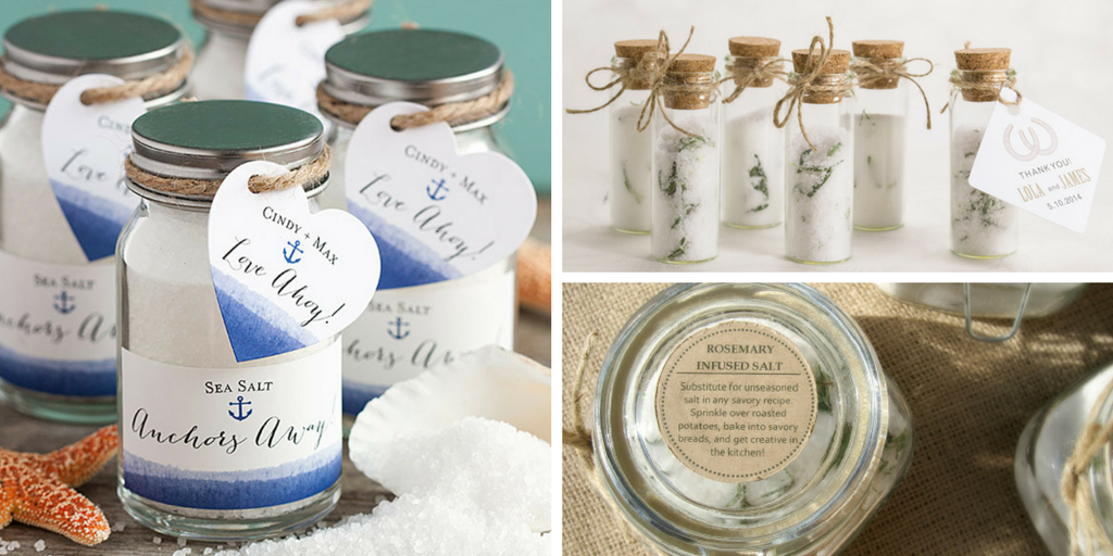 23 wedding favors - sea salt