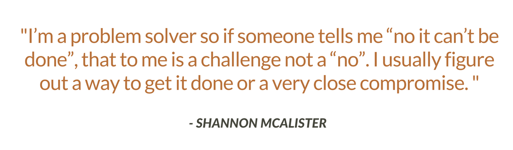 Shannon McAlister Expert Interview Quote