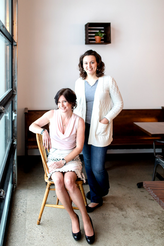 Stacy Horn and Emily Pojar from Juniper & Lace Events