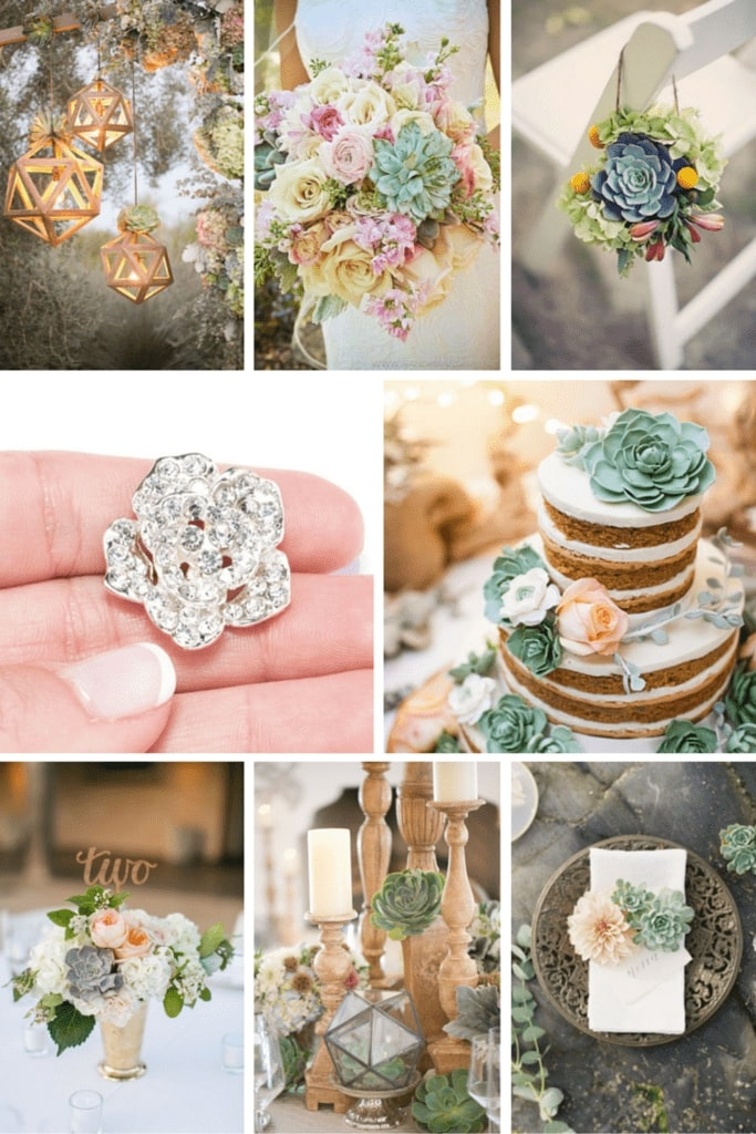 Succulent Wedding Theme Inspiration Totally Dazzled