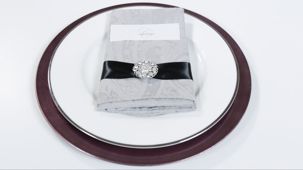 67 Best Images About Napkin Rings Menu Cards On: DIY Wedding Bling Napkin Rings A Do It Yourself Wedding