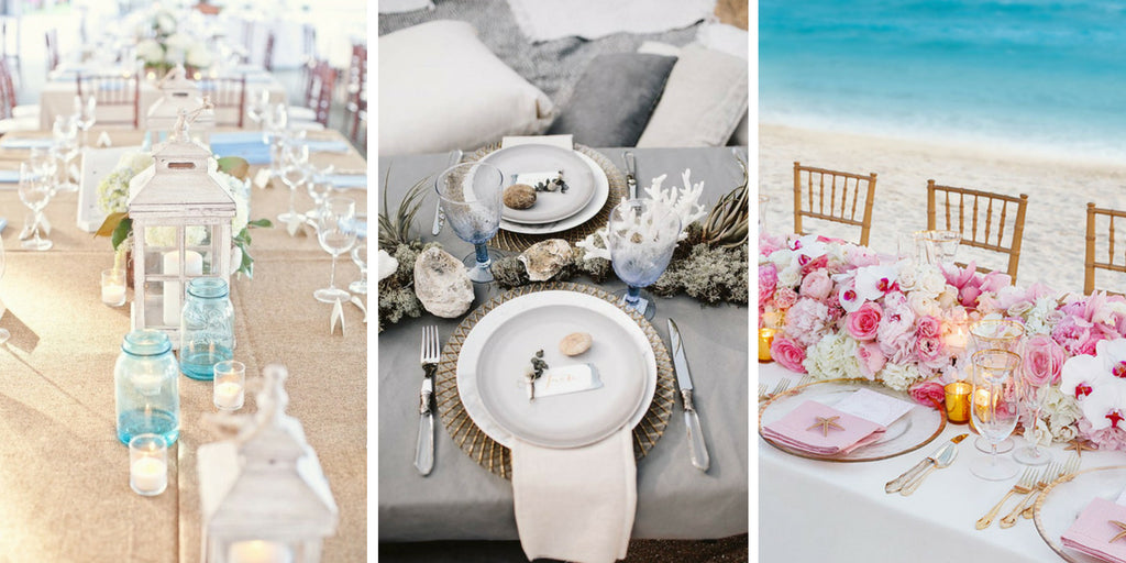 Beach Wedding Table Ideas & 60 Stunning Table Settings for Weddings and Events