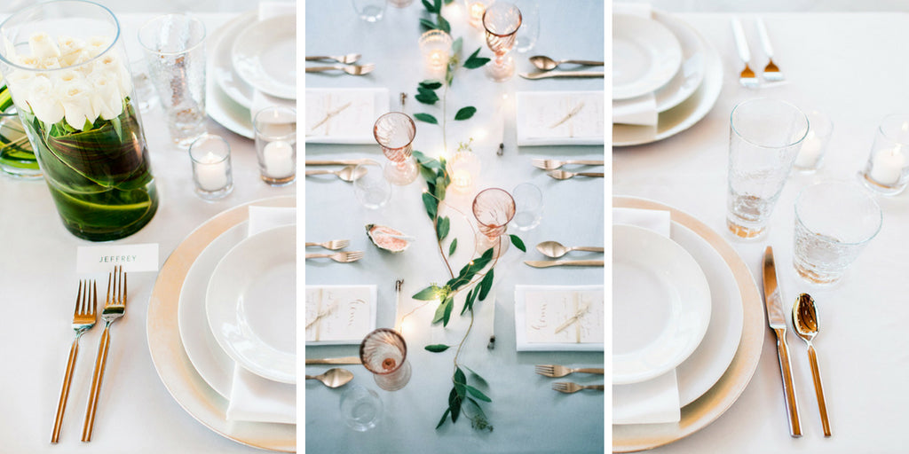 Minimal Wedding Table Settings & 60 Stunning Table Settings for Weddings and Events