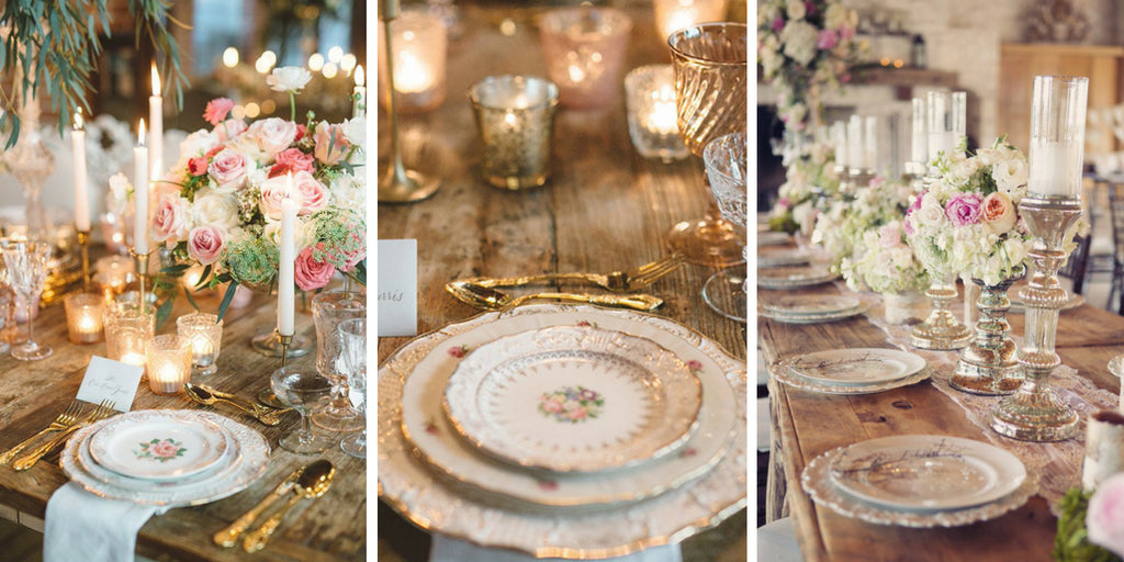 Vintage Wedding Ideas & 60 Stunning Table Settings for Weddings and Events