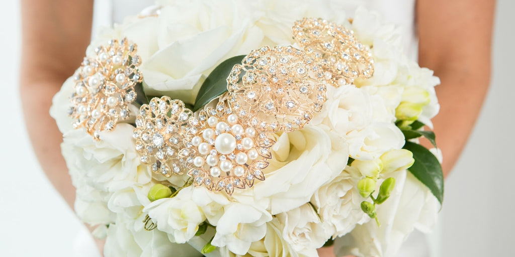 Totally Dazzled 2016 Lookbook Vintage Pink and Pearl Wedding Flowers