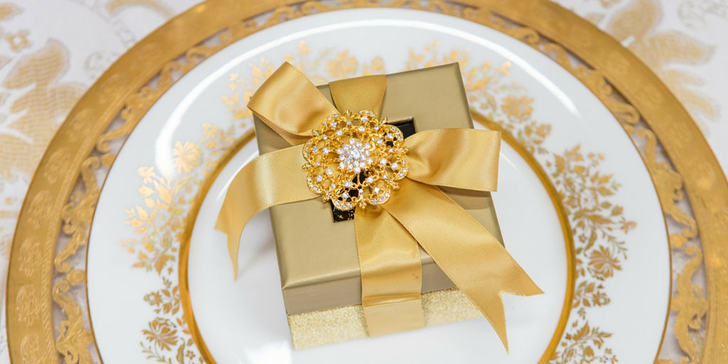 Totally Dazzled 2016 Lookbook Gold Wedding Favor