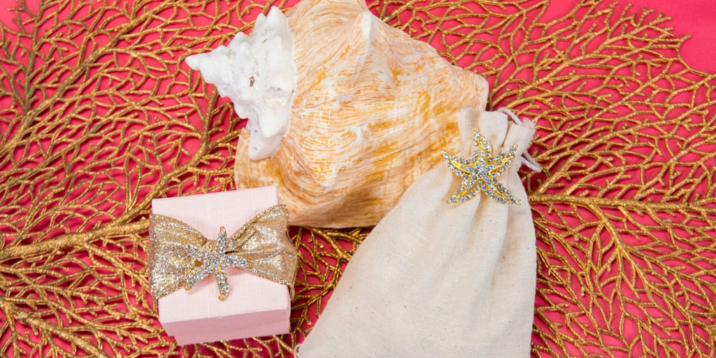 Totally Dazzled 2016 Lookbook Coral Beach Wedding Gifts and favors
