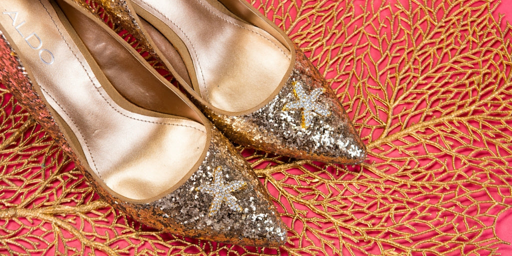Totally Dazzled 2016 Lookbook Coral Beach Wedding Shoes