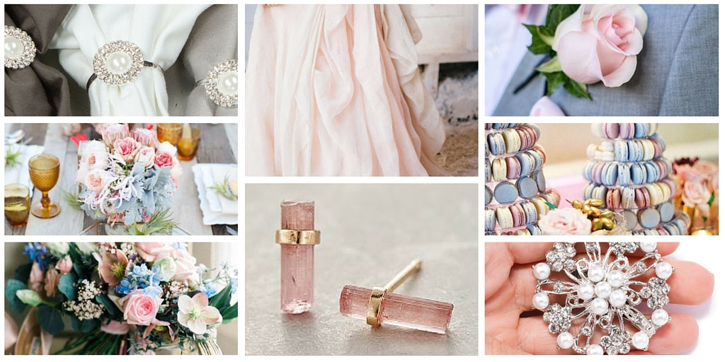 Totally Dazzled Rose Quartz and Serenity Color Inspiration