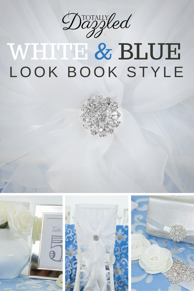 Totally Dazzled 2016 Lookbook White and Blue
