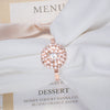 Wedding Rose Gold Rhinestone Napkin Ring