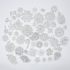 wholesale rhinestone embellishments in silver