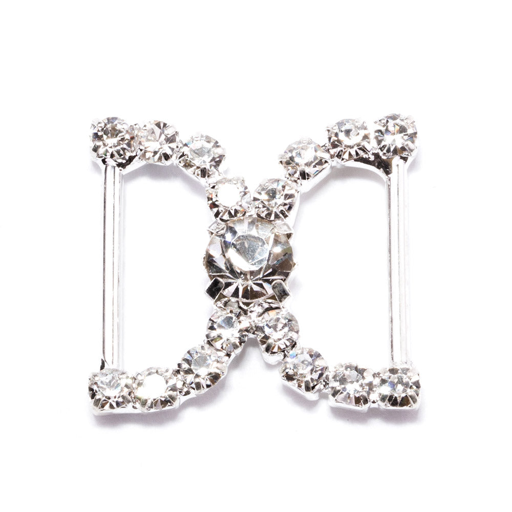 Diamante Buckle Sliders Wholesale