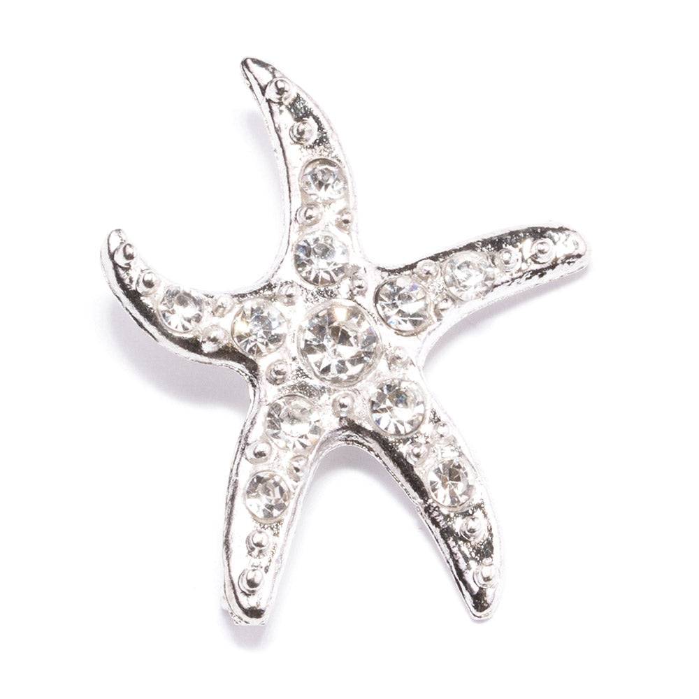 Diamante Starfish Invitation Buckle