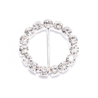 Rhinestone Circle Invitation Buckles Wholesale