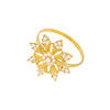 Gold Snowflake Napkin Ring, Totally Dazzled 541-G-N