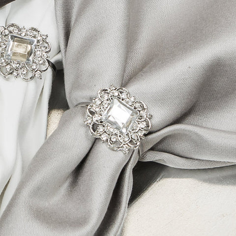 CRYSTAL NAPKIN RING 322-S-N