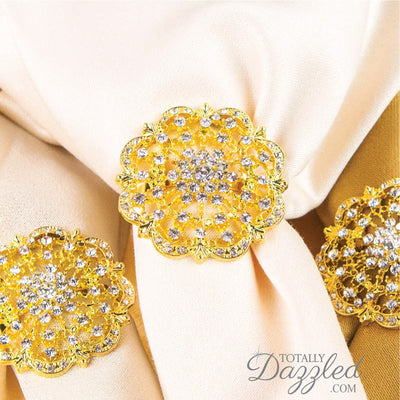 Wholesale Diamante Napkin Rings