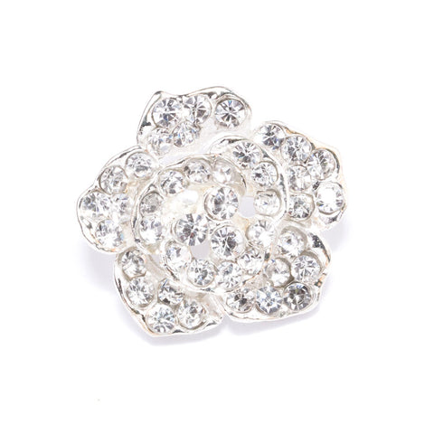 ROSE CRYSTAL BUTTONS 703-S