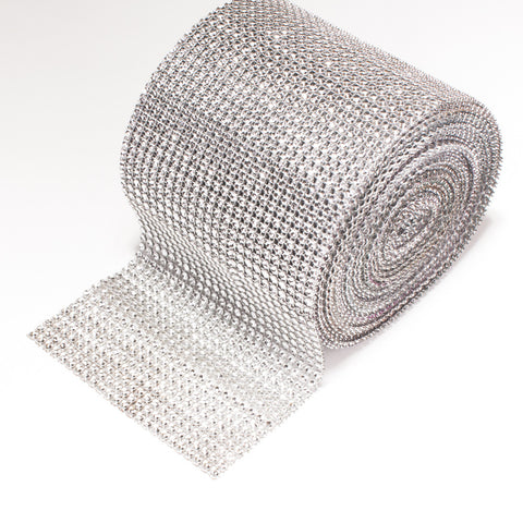 Bling Wrap, Rhinestone Mesh Ribbon, Trim 901-S