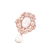 Rose Gold Dangle Brooch, Totally Dazzled 416-R